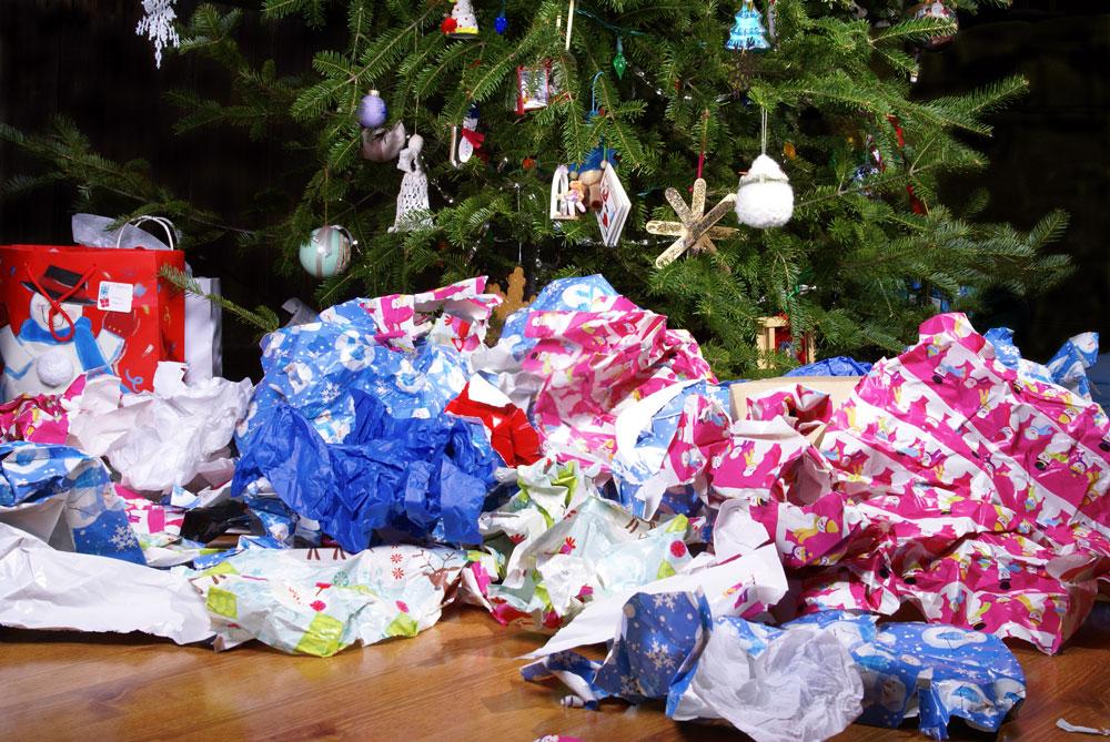 papirsøppel jul