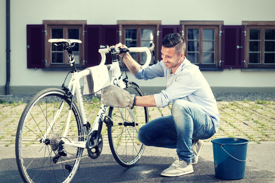bil og sykkelvask